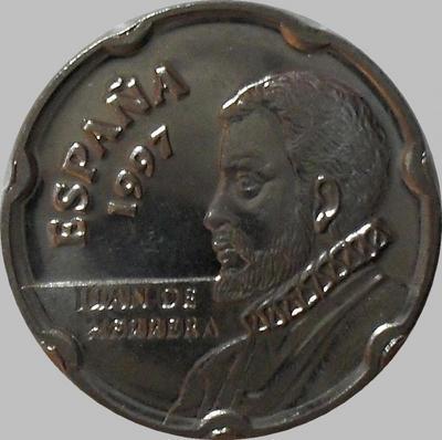 50 песет 1997 Испания. Хуан де Эррера.