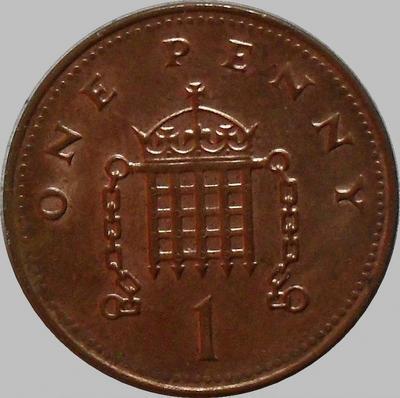 1 пенни 2005 Великобритания.