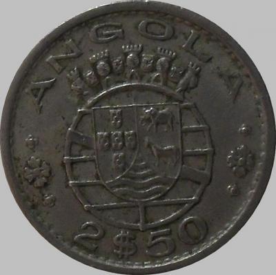 2,5 эскудо 1969 Португальская Ангола.