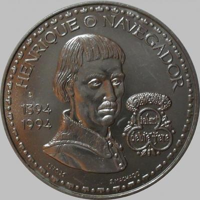 200 эскудо 1994 Португалия. Генрих Мореплаватель.