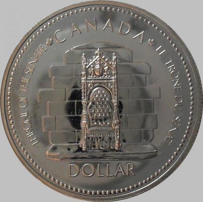 1 доллар 1977 Канада. 25 лет коронации Елизаветы II.