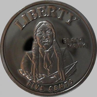 5 центов 2011 Меса Гранде.