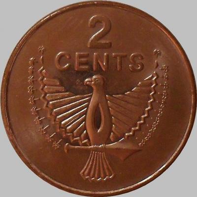 2 цента 2005 Соломоновы острова.
