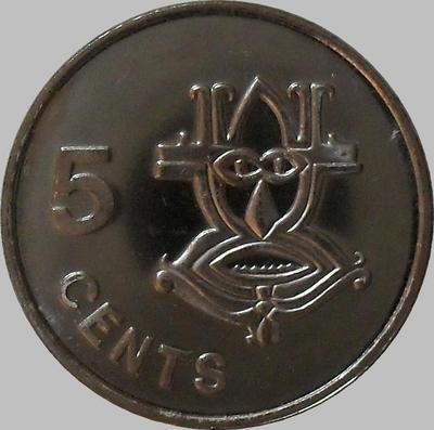 5 центов 2005 Соломоновы острова.