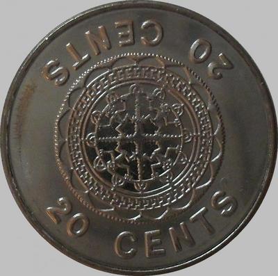 20 центов 2005 Соломоновы острова.
