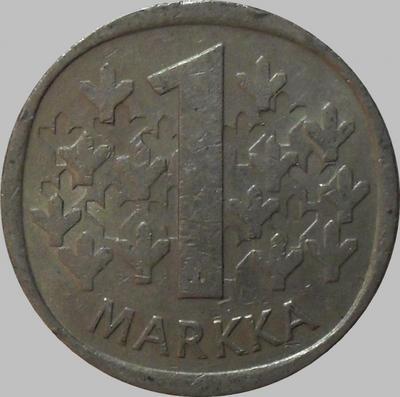1 марка 1980 К Финляндия.