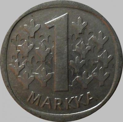 1 марка 1989 М Финляндия.