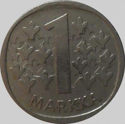1 марка 1982 К Финляндия.