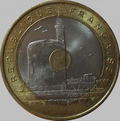 20 франков 1993 Франция. Средиземноморские игры.