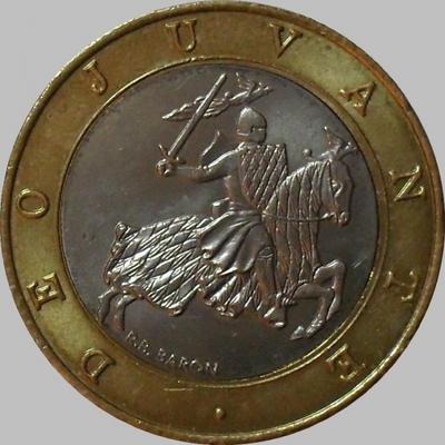 10 франков 2000 Монако.
