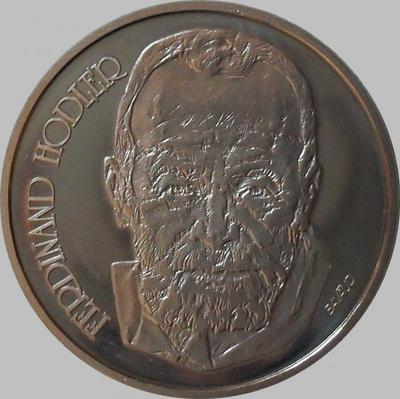 5 франков 1980 Швейцария. Фердинанд Ходлер.