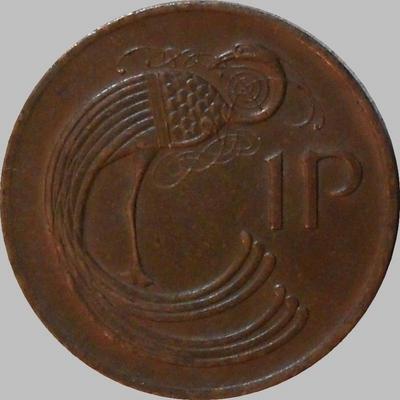 1 пенни 1979 Ирландия. Павлин. (в наличии 1974 год)