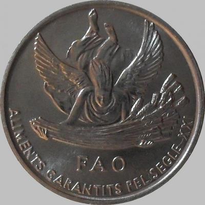 1 сантим 1999 Андорра. ФАО.
