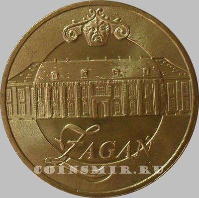 2 злотых 2006 Польша. Жагань.