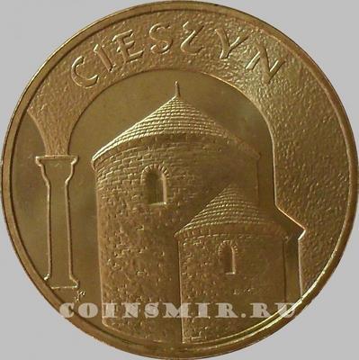 2 злотых 2005 Польша. Цешин.