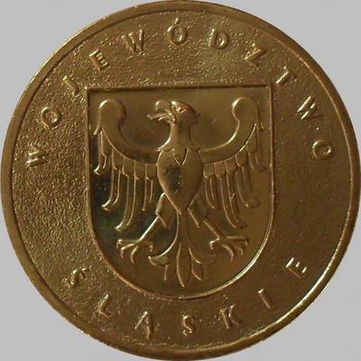 2 злотых 2004 Польша. Силезское воеводство.