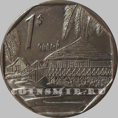 1 песо 1998 Куба.