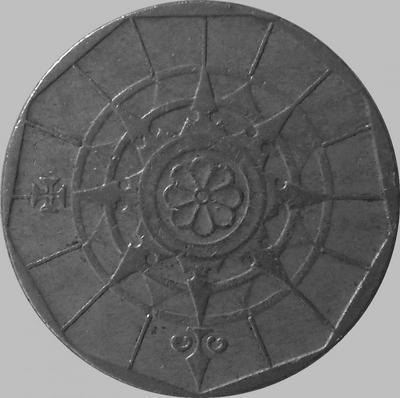 20 эскудо 1989 Португалия. (в наличии 1988 год)