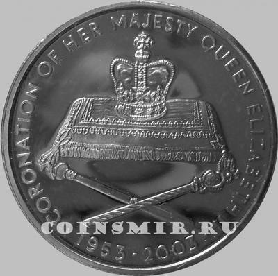 1000 квач 2003 Замбия. Юбилей Коронации Елизаветы II.