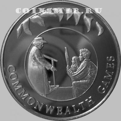 50 пенсов 2002 Фолклендские острова. Игры содружества.