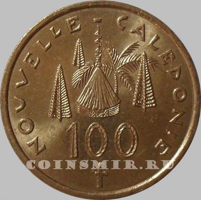 100 франков 2005 Новая Каледония. (в наличии 2010)