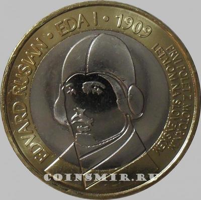 3 евро 2009 Словения. 100 лет первому авиаполету.