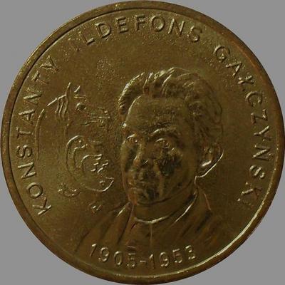 2 злотых 2005 Польша. Константин Галчиньский.