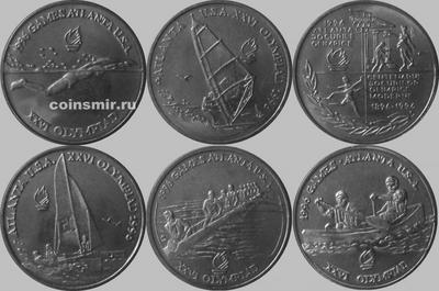 Набор монет 1996 Румыния. Олимпиада в Атланте.