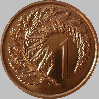 1 цент 1985 Новая Зеландия.