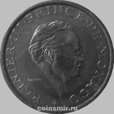 2 франка 1982 Монако. (в наличии 1981 год)