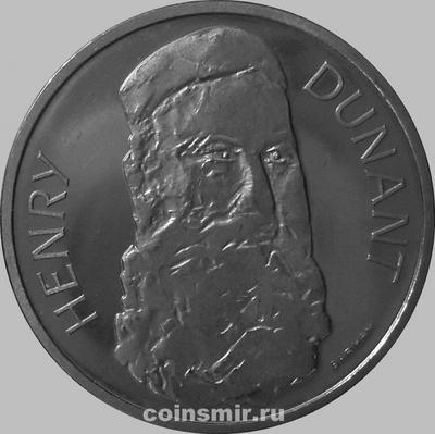 5 франков 1978 Швейцария. Анри Дюнан.