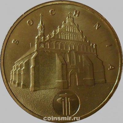 2 злотых 2006 Польша. Бохня.