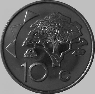 10 центов 2009 Намибия.
