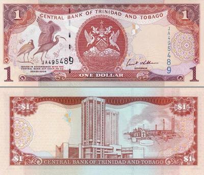 1 доллар 2006 Тринидад и Тобаго.