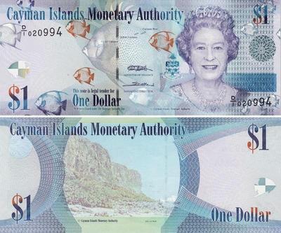 1 доллар 2010 Каймановы острова.