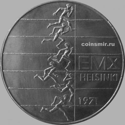 10 марок 1971 Финляндия. Чемпионат Европы по Легкой атлетике 1971.