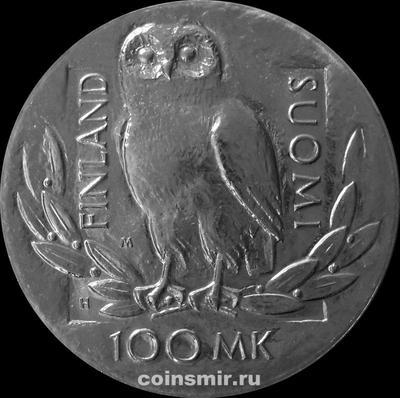100 марок 1990 Финляндия. 350 лет  Университету в Хельсинки.