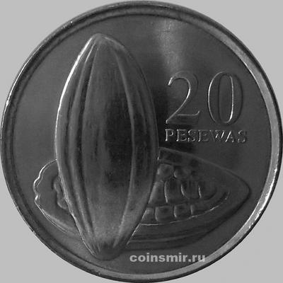 20 песев 2007 Гана. Плоды какао.
