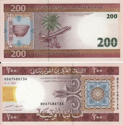 200 угий 2006 Мавритания.