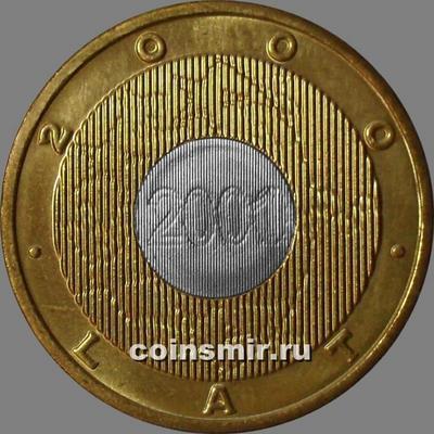 2 злотых 2000 Польша. Миллениум.