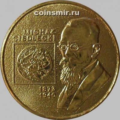 2 злотых 2001 Польша. Михал Седлецкий.