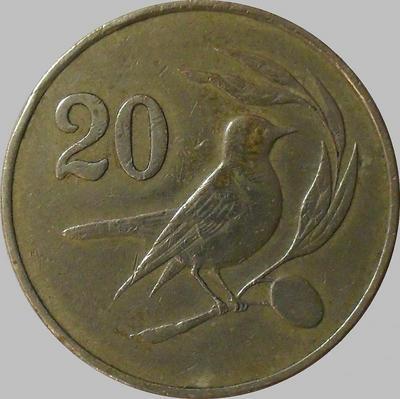20 центов 1983 Кипр. (в наличии 1985 год)