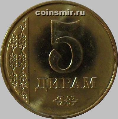 5 дирамов 2011 Таджикистан.