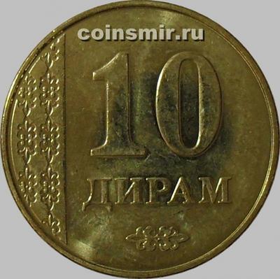10 дирамов 2011 Таджикистан.