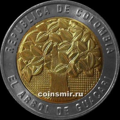 500 песо 2009 Колумбия. (в наличии 2010 год)