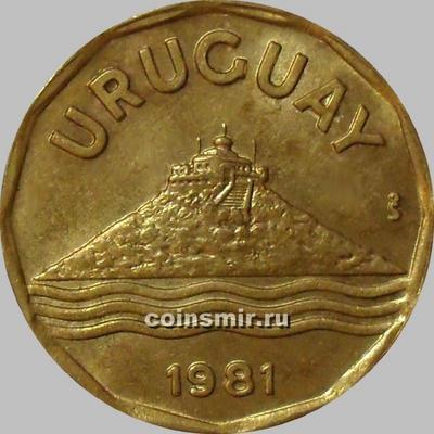 20 сентесимо 1981 Уругвай.