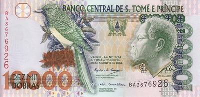 10000 добр 2004 Сан-Томе и Принсипи.
