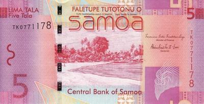 5 тал 2008-2012 Самоа.