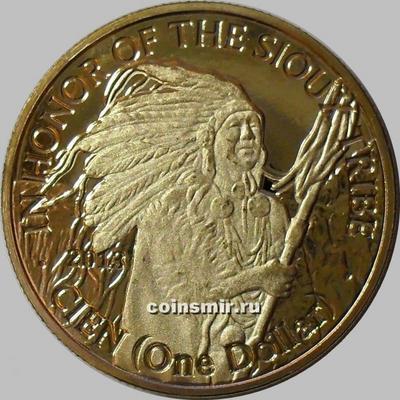 1 доллар 2013 Меса Гранде.