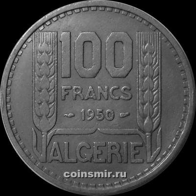 100 франков 1950 Французский Алжир.
